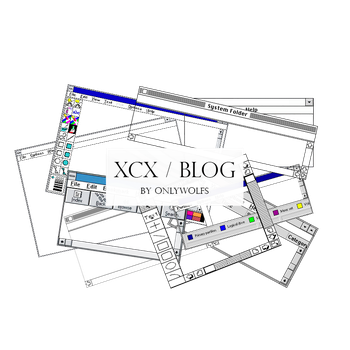 XCX / Blog [Pack #13] by OnlyWolfs
