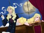 Hellsing: Integra and Victoria color by starfiregurl26