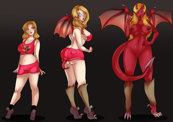 [c] Sexy Succubus time by lufidelis