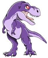 The Land Before Time: Chomper by Alien-Psychopath