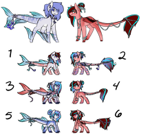 DragonFishy Breedbabs Auction (Closed) by cutevulpix56