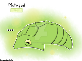 The Pokedex Challenge: #011 Metapod by KamanderKato