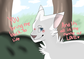 In the name of love  Fanart by jayfeather009