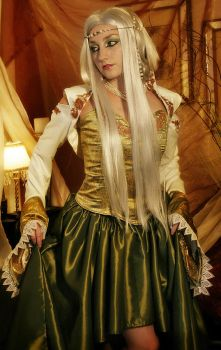 Elven Royalty 2 by Firefly-Path
