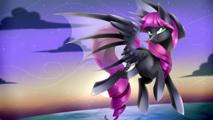 Loving Nightmare w/background by Scarlet-Spectrum