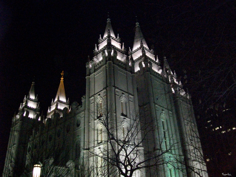 Salt Lake Temple by Enchantedprey5280