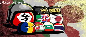 Axis Power countryballs by SevonianBall