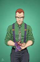 Edward Nygma 2027 (Earth-27) commission by phil-cho