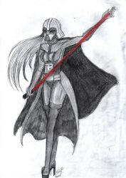 Darth Vader but...different? by Sister-of-Metal