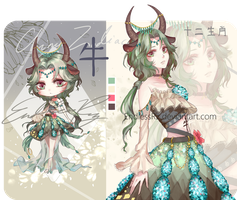 [CLOSED TY] Chinese Zodiac Adopt: Ox by EndlessRz
