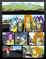 The Dazzlings as Red Tails by piojote