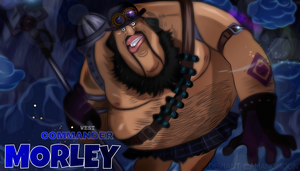 One Piece 904 Revolutionary Army Giant Morley by Amanomoon