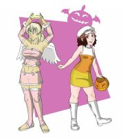 Happy Halloween ~ Connie and Marion Style! by RemnantComic