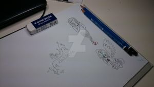 More magnifying glass art by Elmer157Typhlosion