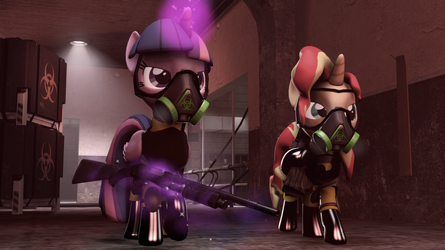 [SFM Ponies] Containment Control by FD-Daylight