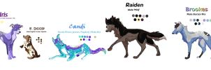 Group Ref Sheet 1 by MeanCheen