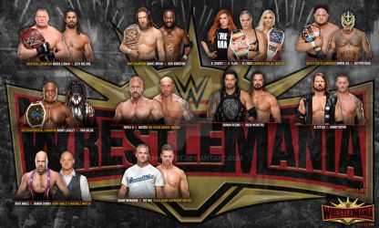 WWE#1 WRESTLEMANIA 35 ! by htm4short