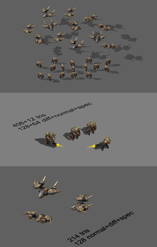 low poly units by kinyz
