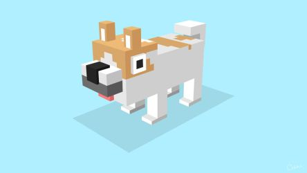 Isometric Dog (Type 1) by DastronTM