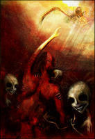 Descending to Hell by Jackovdaily