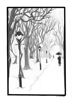Winter in the Park by Sombrewood