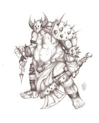 Battle Ogre by Angreumachmor