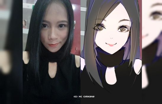 Me Vs. Anime (face reveal yey) by kiacii-official