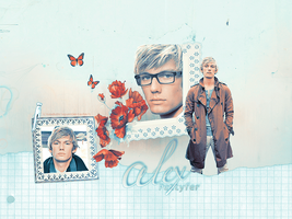 alex _wallpaper by LikeABubblegum