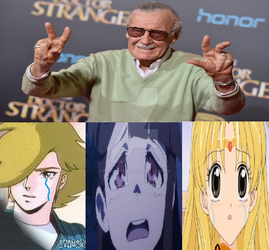 The Protectors Cry Over Stan Lee by Sparrow12592