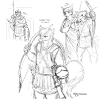 Rough Character Concept - Nearchus by ManusExtraordinarii