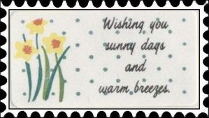 Wishing You Sunny Days stamp by katamariluv