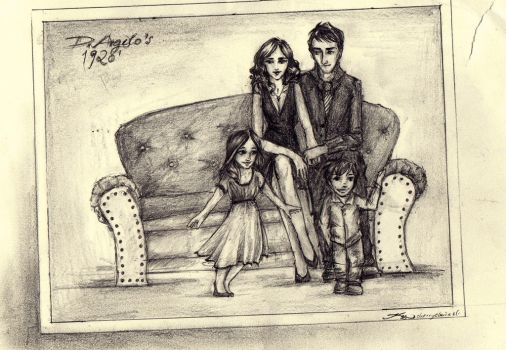 a family portrait by cherryclaires