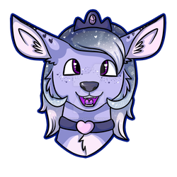 Blueberry | Headshot Commission by trenchcoats-and-pie