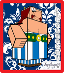 Obelix Cubeecraft by angelyques