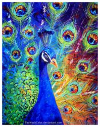Peacock by TooMuchColor