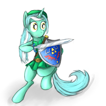 Legend of Lyra: lyre of time. by lKittyTaill