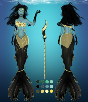 Dark Sea Goddess by Suthay