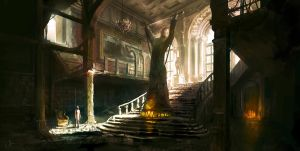 Mansion Stairs by jordangrimmer