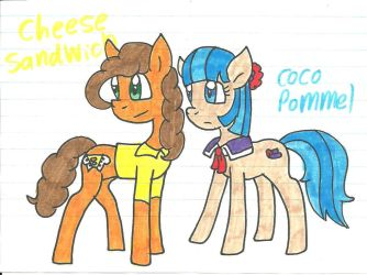 Cheese and Coco by cmara