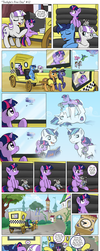 Comic - Twilight's First Day #12 by muffinshire