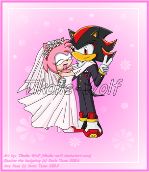Amy and Shadow wedding by Tikalie-Wolf