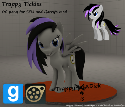 Trappy Tickles Source Engine model by maxlefou