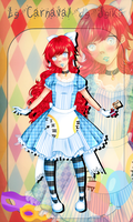 [SS] Carnaval - Nessie Alice in wonderland by Niranei