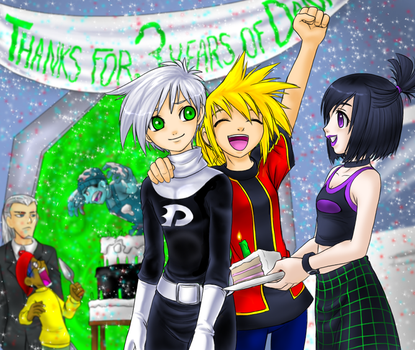 3rd anniversery party by Sakuyamon
