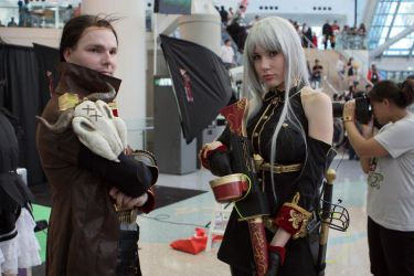 AX 2010 - Selvaria and Jaeger by Hcoregamer00