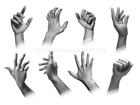 Anatomical Study: Hands by Spectrum-VII