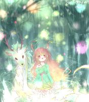 Forest of lights by Myssinee