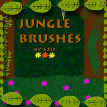 Jungle Brushes by ezo