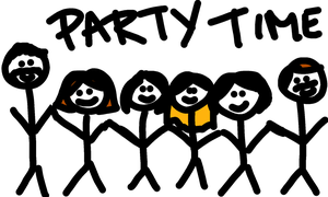 Party Time by JenniBeeMine