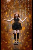 Autumn levitation by dudeckaya